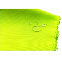 Quality Polyester Cotton Twill Fluorescent Fabric Water Oil Proof  Clothing Material for sale