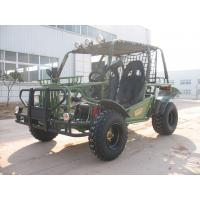 Quality Hammer Style Green Go Kart Buggy , 150CC Kandi Two Seats Dune Buggy for sale