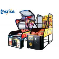 Quality Electronic Arcade Basketball Game Machine , Basketball Shooting Game Machine Fashion Design for sale