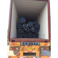Quality ASTM A106GR.B Carbon Seamless pipe with beveled ends 6meter length for sale