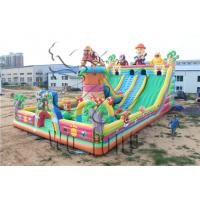 Quality 2014 hot sale inflatable castle with climbing for sale for sale