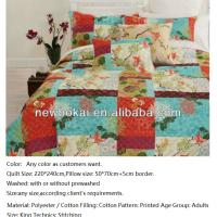 Quality bedding set,best quality best price cotton quilts,with filling cotton or 100%polyester,any size and color as you want, for sale