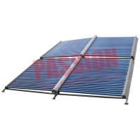 China 100 Tubes Evacuated Tube Solar Collector , Solar Water Heater Collector Panels on sale