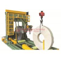 Buy cheap 5.0kW Vertical Coil Wrapping Machine High Ring Speed PLC Programmable Control from wholesalers