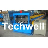 Quality PLC Control Deck Roll Forming Machine For Floor Decking Panel, Metal Decking Sheet for sale