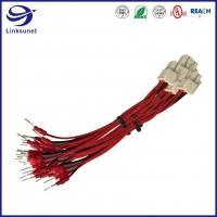 Quality 1007 26AWG Marine Instrument Wire Harness With 5557 4.2mm Receptacle Connectors for sale