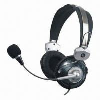 Quality Light Headphones with Cord Length of 2.0m and 100mW Maximum Input Power, Suitable for Computers for sale
