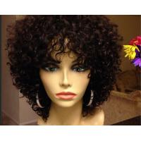 Quality Smooth Mixed Color  Brazilian Curly Human Hair Extensions Can Be Dye Permed for sale
