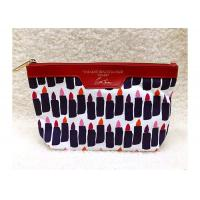 Quality Eco Friendly Promotional Toiletry Bag Custom Makeup Lipstick Printed for sale