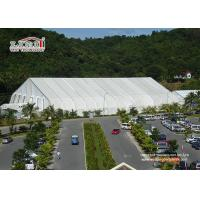 China Large White Military Airplane Tent , TFS Aircraft Tent Portable Rainproof for sale on sale