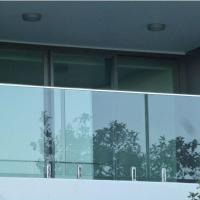 Quality Modern High Quality Outdoor Stainless Steel Glass Balcony Railing Design for sale