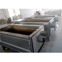 Quality Brush Roller Potato Washing Machine Speedy No Limitation For Long Shape Fruit for sale