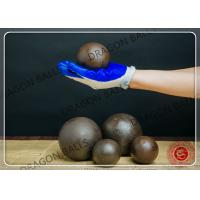 Quality Diam 20mm Hot Rolling Steel Balls C45 60Mn B2 B3 Material Customized Size for sale