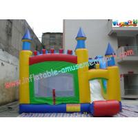 Quality Commercial Grade PVC Inflatable Bouncer Slide , Kids 4 In 1 Bounce House for sale