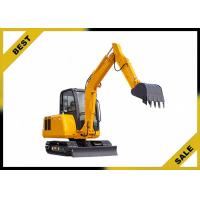 25.2kw 4.2 Tonne Construction Equipment Excavator Easy Transporation Extendable Chassi