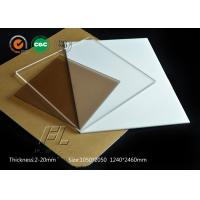 Quality Clear ESD Polycarbonate Sheet With The Change Of Visual Fog Not Obvious for sale