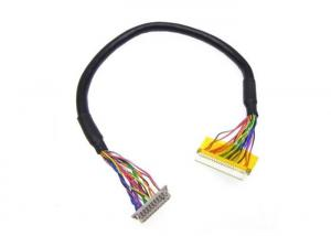 Quality UL20276 LVDS Cable Assembly DF13-20DS-1.25C To DF19-20S-1C LVDS for sale