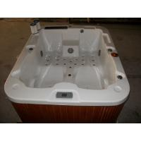Quality Outdoor / Indoor Freestanding Whirlpool Spa Tub Acrylic Jet For Hydro Massage for sale