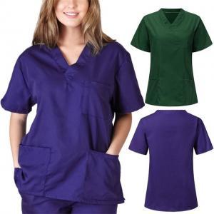 Quality 2020 fashion nursing scrubs medical uniform design for sale