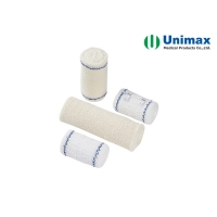 Quality Elastic Crepe Bandage UNIMAX Spandex Surgical Dressings for sale