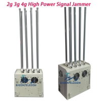 Quality VSWR System 8 Channels 240w 100m Prison Cell Phone Jammer for sale