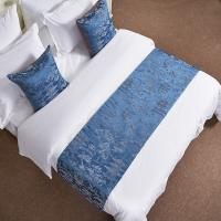 China Geometric Pattern Hotel Bed Runner Bed Clothes Bed Linen Cushion For Adult on sale