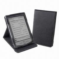 Quality Stand Leather Cases for Amazon Kindle 4 Ebook Reader, Customized Designs Welcomed for sale
