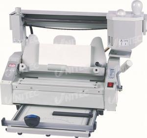 Quality Notebook Manual Binding Machine , A4 Paper Binding Machine 28.5Kgs JB-4 for sale