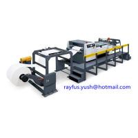 Quality Single Rolling Paper Roll To Sheet Cutting Machine Slitting Cutting Counting Stacking for sale