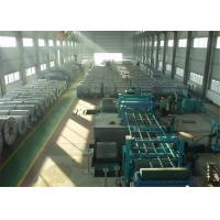 China Continuous GI Steel Sheet Hot Dip Galvanizing Line Steel Roll Forming Machine on sale