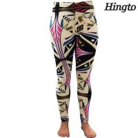 Quality Customized Womens Jogging Pants / Long Length Yoga Pants Quick Dry for sale