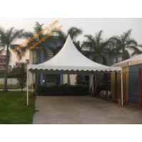 Fireproof Wedding Event Trade Show Tent 4x4m Outdoor Pagoda Party Tent