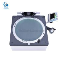 China Clear Imaging Horizontal Optical Comparator Machine Reliable 100mm Y - Axis Travel on sale