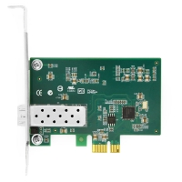 Buy cheap Intel® I210 F1 Single Port Gigabit SFP  PCI Express x1 Ethernet Network Interface Card PCIe v2.1 from wholesalers