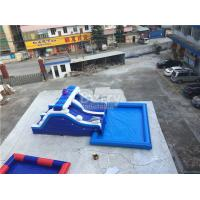 Quality Blue Wave Ultimate Inflatable Backyard Water Park With Pool Customzied Size for sale