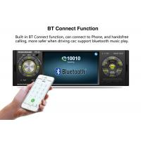 Buy Single Din Touch Screen Head Unit For Car 178*50mm Steering Remote Optional at wholesale prices
