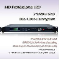 China RIH1301 HD IRD ATSC TO ASI&UDP/IP MPEG-4 Decoder SDI HDMI CVBS Video Output on sale