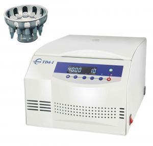 Microprocessor Control Serum Centrifuge Machine TD4-1 With Brushless AC Motor