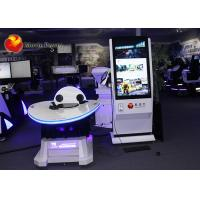China Electric Cylinder Platform Virtual Reality Simulator With Oculus Rift VR Headsets on sale