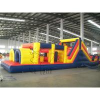 Buy cheap Cheap obstacle course playground for kids, inflatable obstacle course for kids from wholesalers