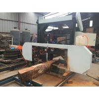 Quality Wood Sawmill Portable Electric Horizontal Band Saw Mills for planks cutting for sale