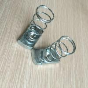 spring strut channel nut galvanized