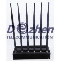 China High Power 6 Antenna Cell Phone,GPS,WiFi,VHF,UHF Jammer on sale