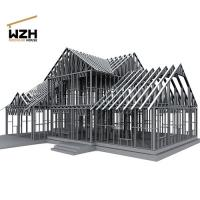 Quality High Strength Galvanized Light Steel Frame for sale