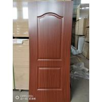 Quality Height 2150mm HDF Door Skin 3mm / 4mm Thickness Natural Veneer Surface for sale