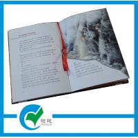 Quality Cardboard Education Photo Hardcover Book Printing with 1 - 4C(CYMK) Color for sale