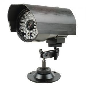 Quality Auto White Balance CDS IR Bullet Cameras PAL / NTSC Long Distance 100-120m for sale