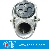 "Quality 3/4"", 4"" Aluminum Service Entrance Cap Threaded / Clamp Type  Terminal Fittings for sale"