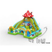 Quality super lovely hello kitty inflatable bouncer slide/inflatable bouncer with slide for sale