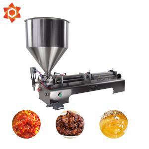 Quality Full Pneumatic Semi Automatic Liquid Filling Machine Air Pressure 0.4-0.9MPA for sale